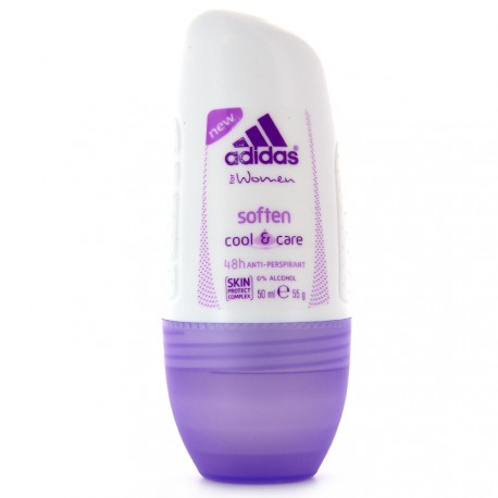 Adidas Women - Soften Déodorant Roll-on Cool & care 48h - 50ml
