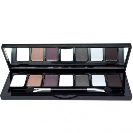 W7 cosmetics - Angel Eyes Palette Jet Set 7 fards à paupières - 7g