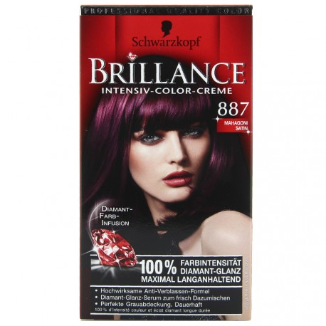 Schwarzkopf - Coloration Brillance - 887 Acajou Satin