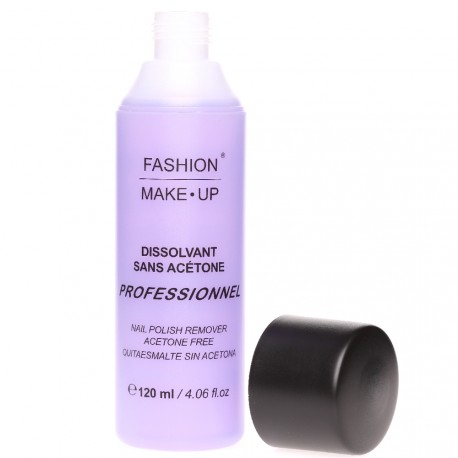 Fashion Make-Up - Dissolvant Sans Acétone - 120ml