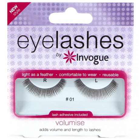 Invogue - Faux cils réutilisable Volume n°01