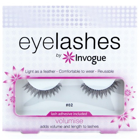 Invogue - Faux cils réutilisable Volume 02