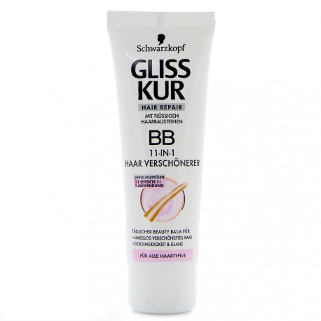 Schwarzkopf - Gliss Kur Hair Repair BB Soin Sublimateur 11-en-1 - 50ml