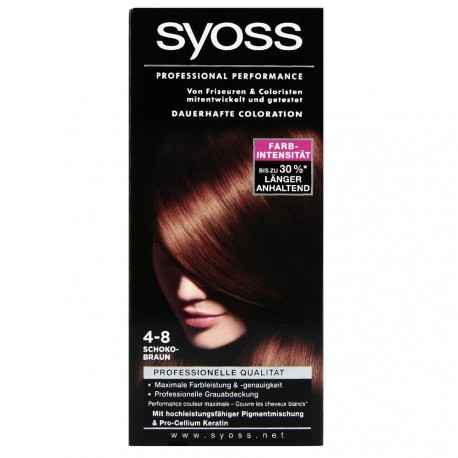 Syoss - Coloration Classic 4-8 Chatain chocolat