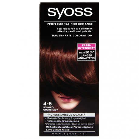 Syoss - Coloration Classic 4-6 Chatain chocolat doré