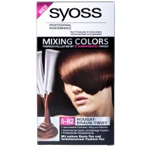 Syoss - Coloration Mixing colors 5-82 Nougat + Brun