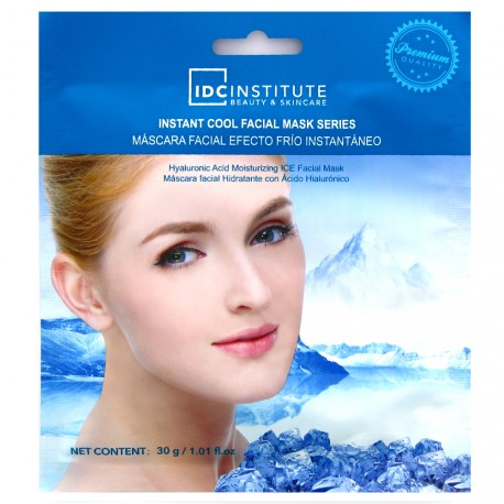 IDC Institute - Masque tissu visage hydratant à l'acide hyaluronique 30g