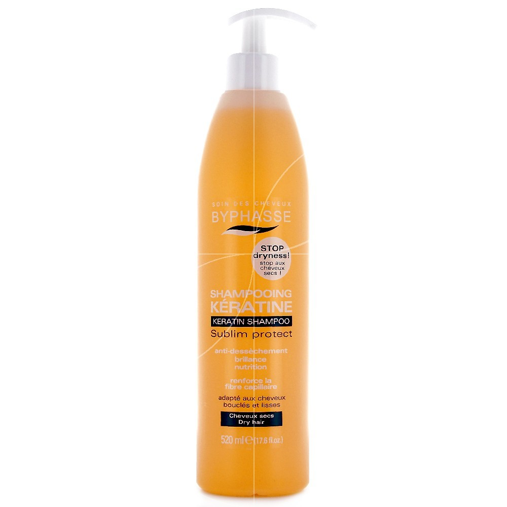 Byphasse - Shampooing kératine Sublim' protect - 520ml