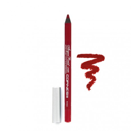 Copines Line - Crayon Acqua resist Liner - Lèvres Waterproof - Bordeaux