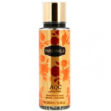 AQC fragrances - Brume parfumée Paris Vanilla - 250ml