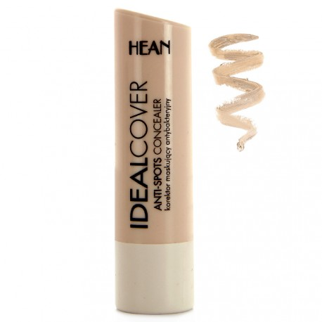 Hean - Ideal cover Stick anti-cernes antibactérien - 1 Naturel