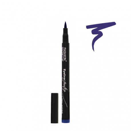 Fashion Make Up - Eyeliner Feutre Longue Tenue 03 Bleu
