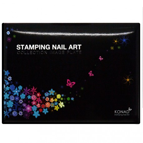 KONAD - Plaques Collection de stamping Nail Art N°1