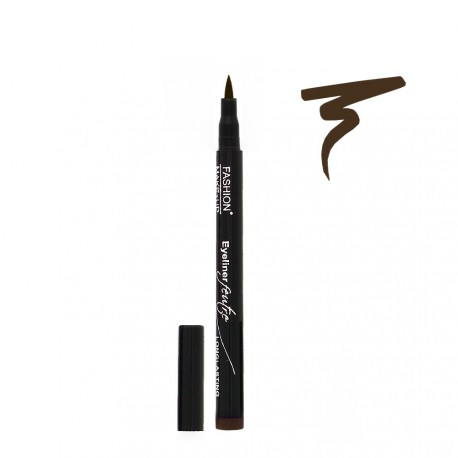 Fashion Make Up - Eyeliner Feutre Longue Tenue 02 Brun