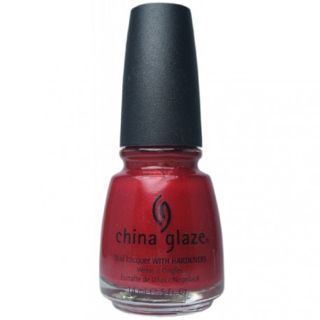 China Glaze - Vernis à ongles laque 70259 Crazy red - 14 ml