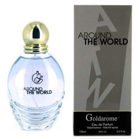 Goldarome - Around the world - Eau de Parfum femme - 100ml
