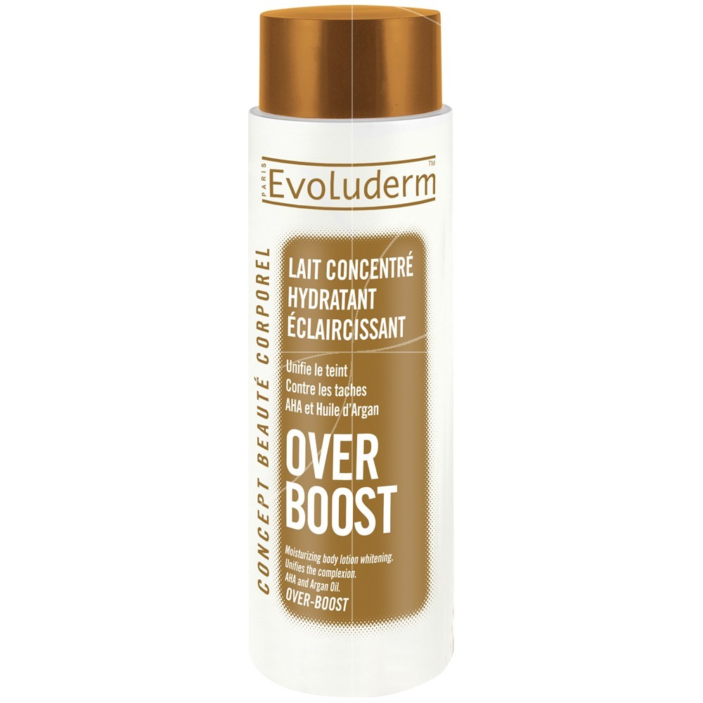 Evoluderm - Lait Concentré Hydratant éclaircissant Over Boost - 500 ml