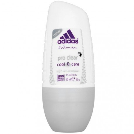 Adidas - Pro Clear Cool & care Déodorant Roll-on Anti-transpirant 48h - 50ml