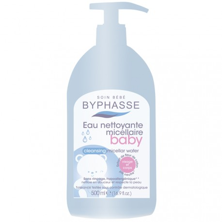 Byphasse - Eau nettoyante micellaire Baby - 500ml