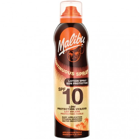 Malibu - Spray lait solaire protection UVA 10 SPF - 175ml