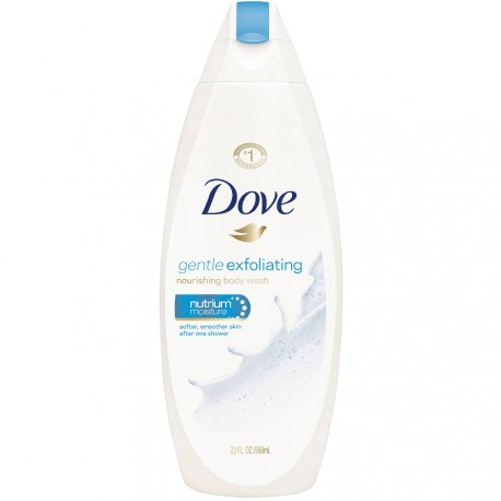Dove - Gel Douche Nourrissant Exfoliant - 500ml
