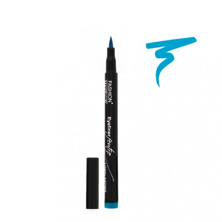 Fashion Make Up - Eyeliner Feutre Longue Tenue 07 Lagon