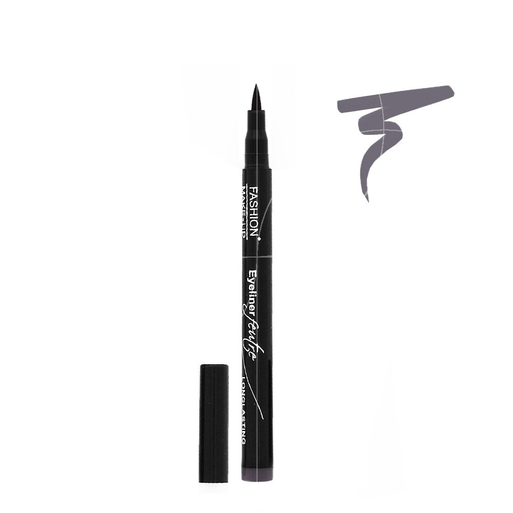 Fashion Make Up - Eyeliner Feutre Longue Tenue 06 Gris