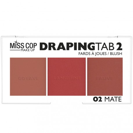 Miss cop - Palette blush Draping tab 02 Mate