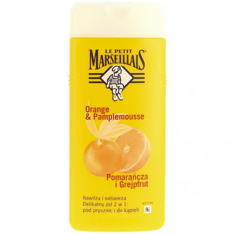 Le Petit Marseillais - Gel douche Orange & pamplemousse - 650ml