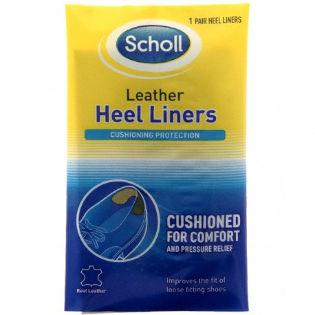 Scholl - Coussinets de protection cuir du talon - 1 paire