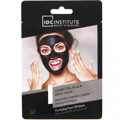 Idc Institute - Masque peel off au charbon noir - 15g