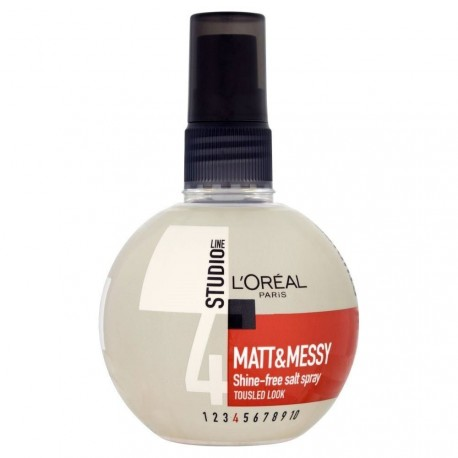 L'oréal Studio line - Matt & Messy Spray fixant force 4 - 150ml