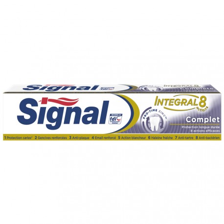 Signal - Dentifrice Intégral 8 Complet - 75ml