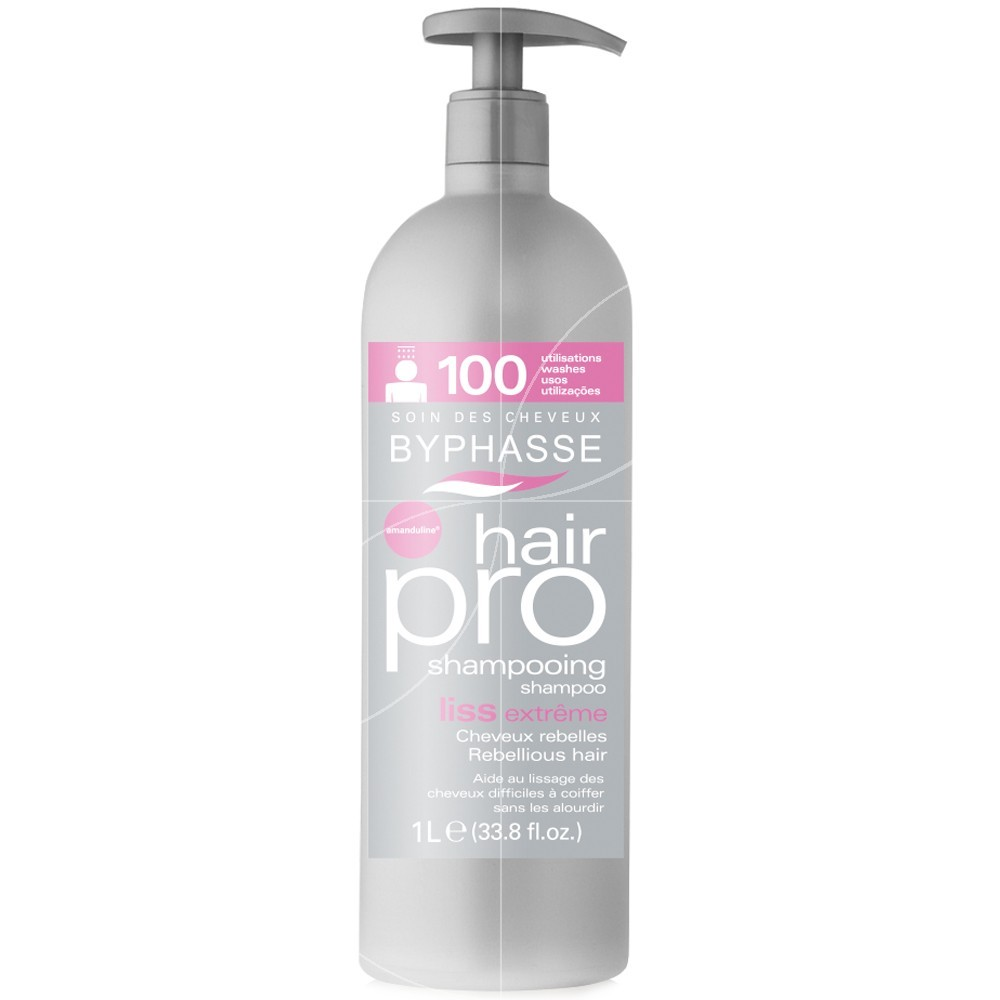 Byphasse - Hair pro Shampooing liss extrême - 1000ml