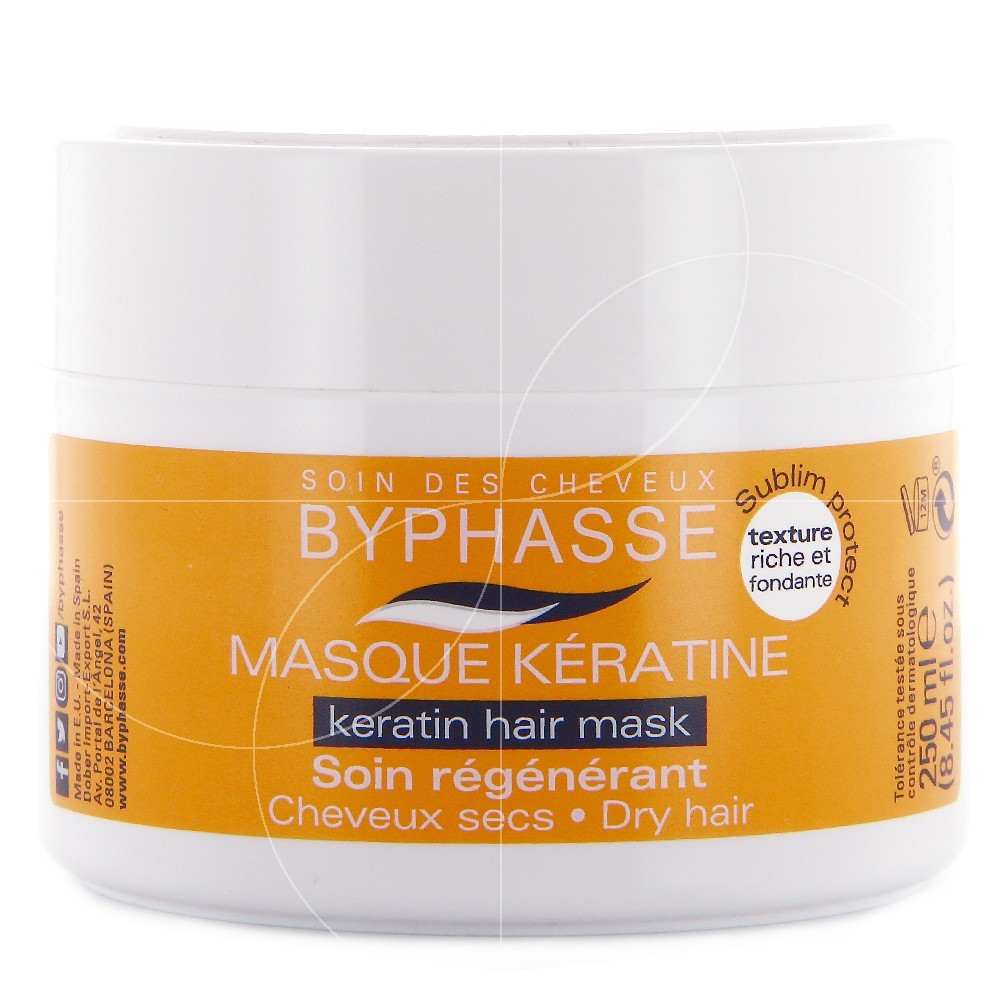 byphasse masque capillaire la k ratine 250ml. Black Bedroom Furniture Sets. Home Design Ideas