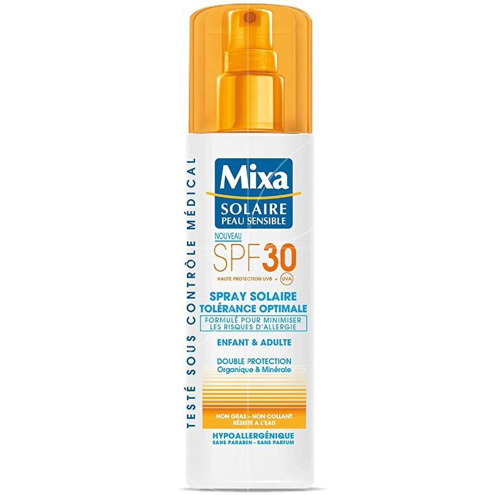 Mixa solaire - Spray solaire tolérance optimale SPF 30 - 200ml