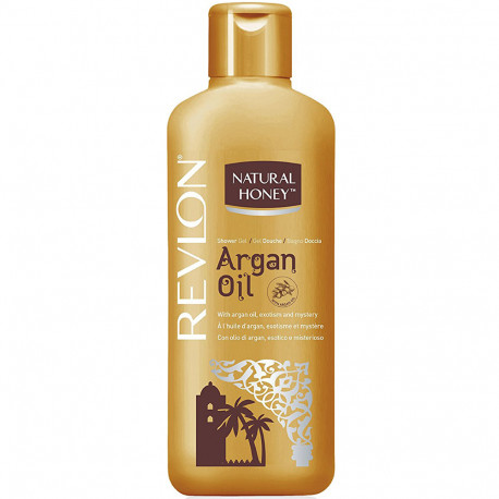 Natural Honey - Gel bain Douche Argan Oil - 650ml