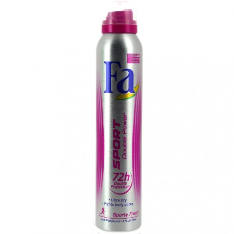 Fa - Déodorant spray Sport double power - 200ml