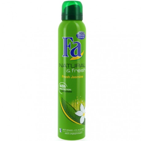 Fa - Déodorant spray Natural & fresh - 200ml