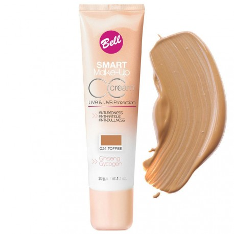 Bell - Smart make up CC crème n°24 toffee - 30g