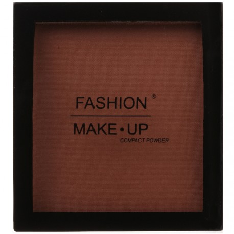 Fashion Make-Up - Poudre Compacte 12 Brun fonçé