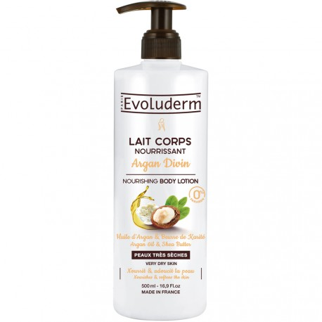 Evoluderm - Lait corps Argan Divin - 500ml