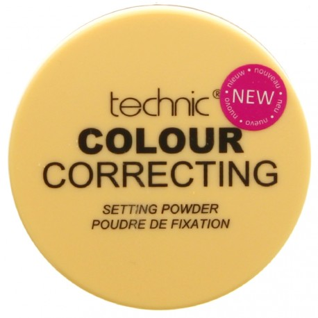 technic - Colour correcting Poudre de Fixation - 20g