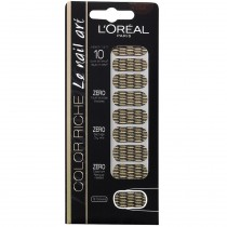 L'Oréal - Color riche Le Nail Art - Stickers pour Ongles 008 Or lamé
