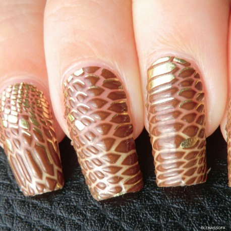L'Oréal - Color riche Le Nail Art - Stickers pour Ongles 006 Chic python