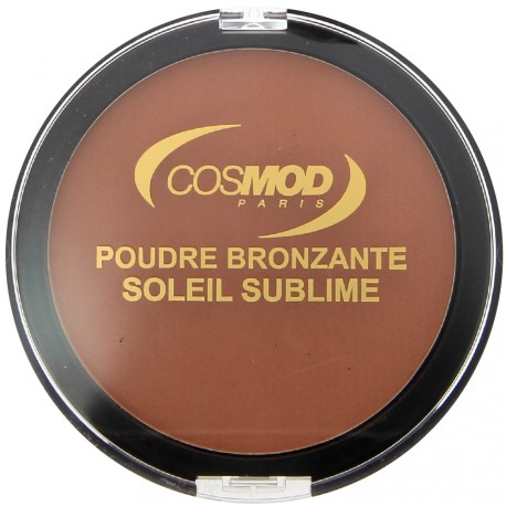 Cosmod - Poudre bronzante soleil sublime n°02 pepite d'or