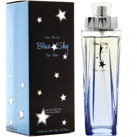 New Brand - Blue Sky For Men - Eau de toilette pour homme - 100 ml