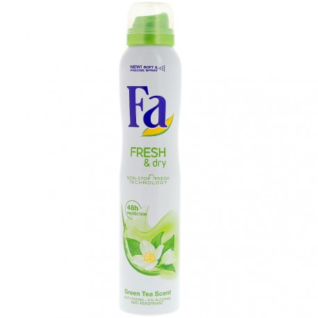 Fa - Déodorant spray Fresh & Dry - 200 ml