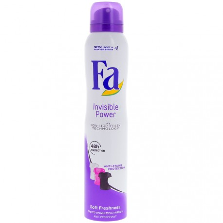 Fa - Déodorant spray Invisible Power - 200 ml