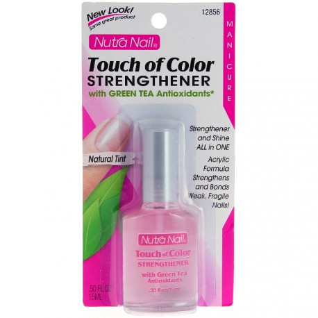 Nutra Nail - Durcisseur Touch of Color aux Antioxydants Thé Vert - 15ml